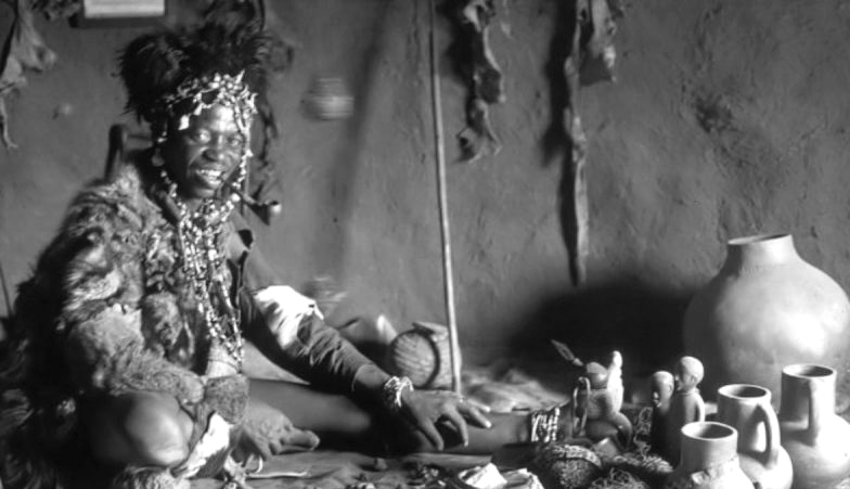Traditional Healer in Tanzania
