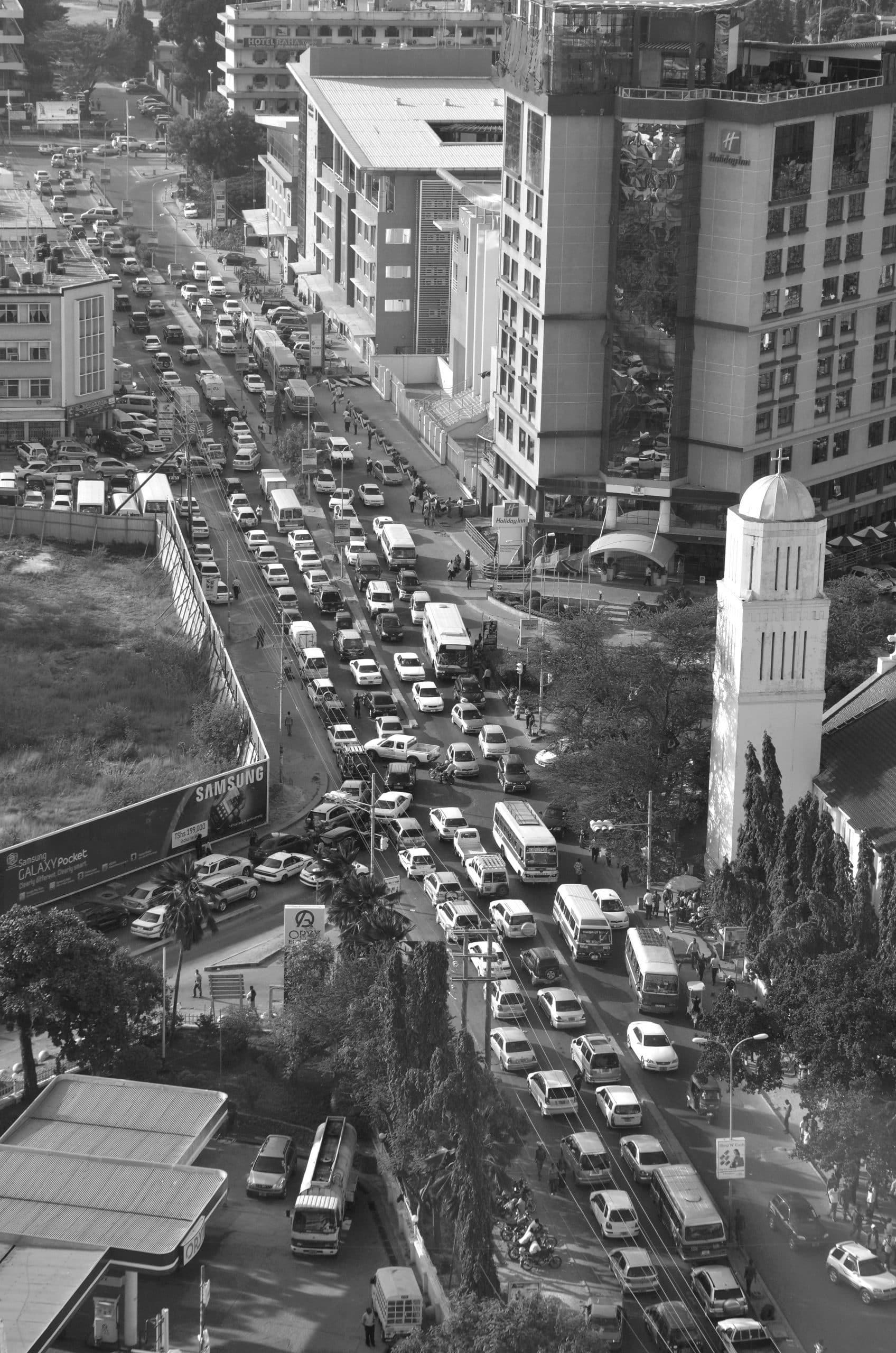 Traffic congestion in Dar es salaam