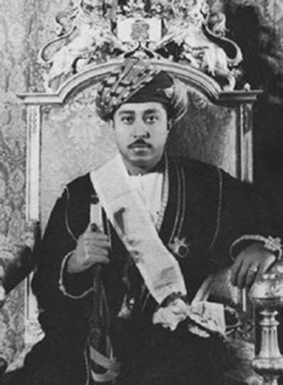 Sultan Seyyid Jamshed Abdulla of Zanzibar