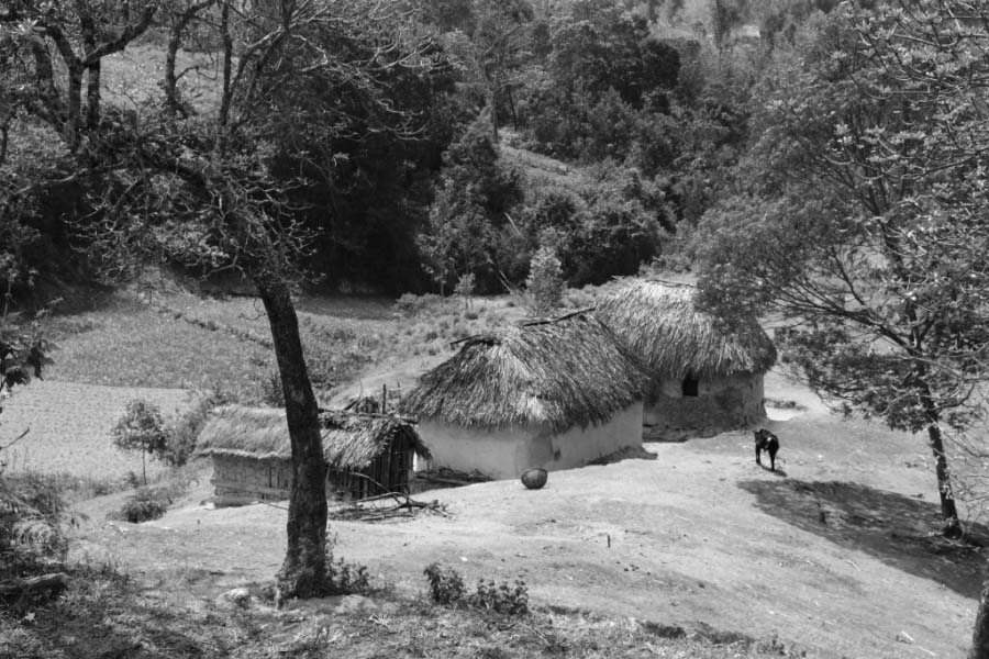 Some settlements of Iraqw tribe members in Manyara