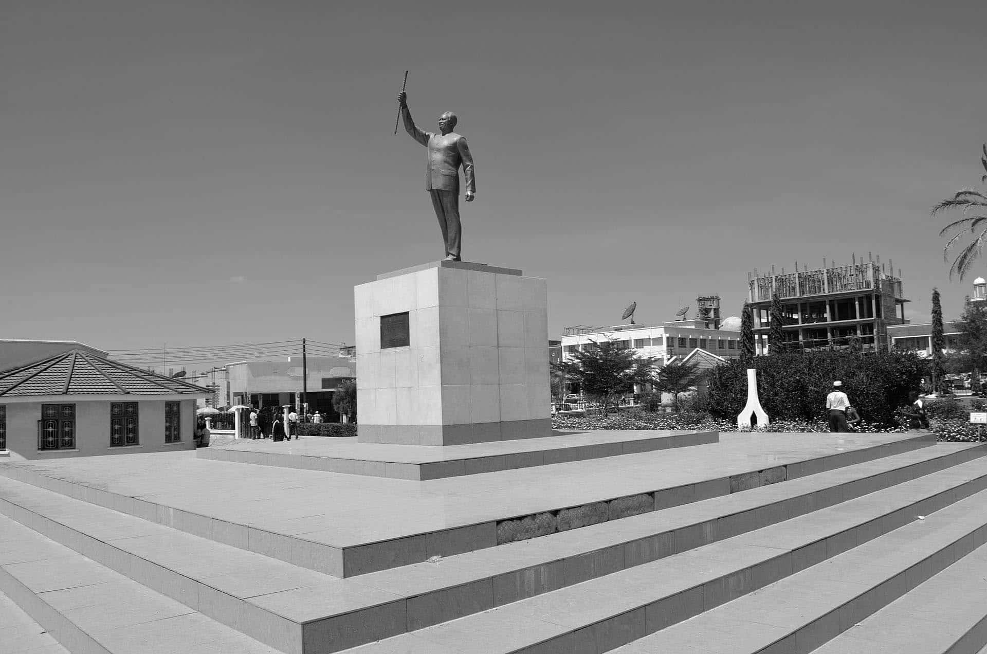 Nyerere statue in Dodoma