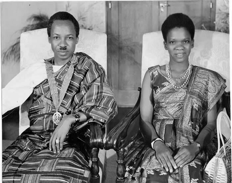 Nyerere with Maria