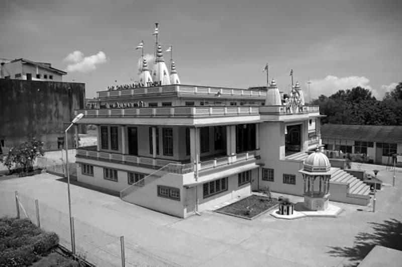 Temple of the Swaminarayan in Dar es salaam