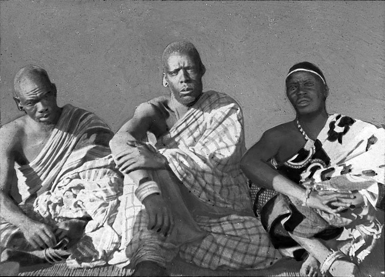 Young Ngoni chiefs from Malawi