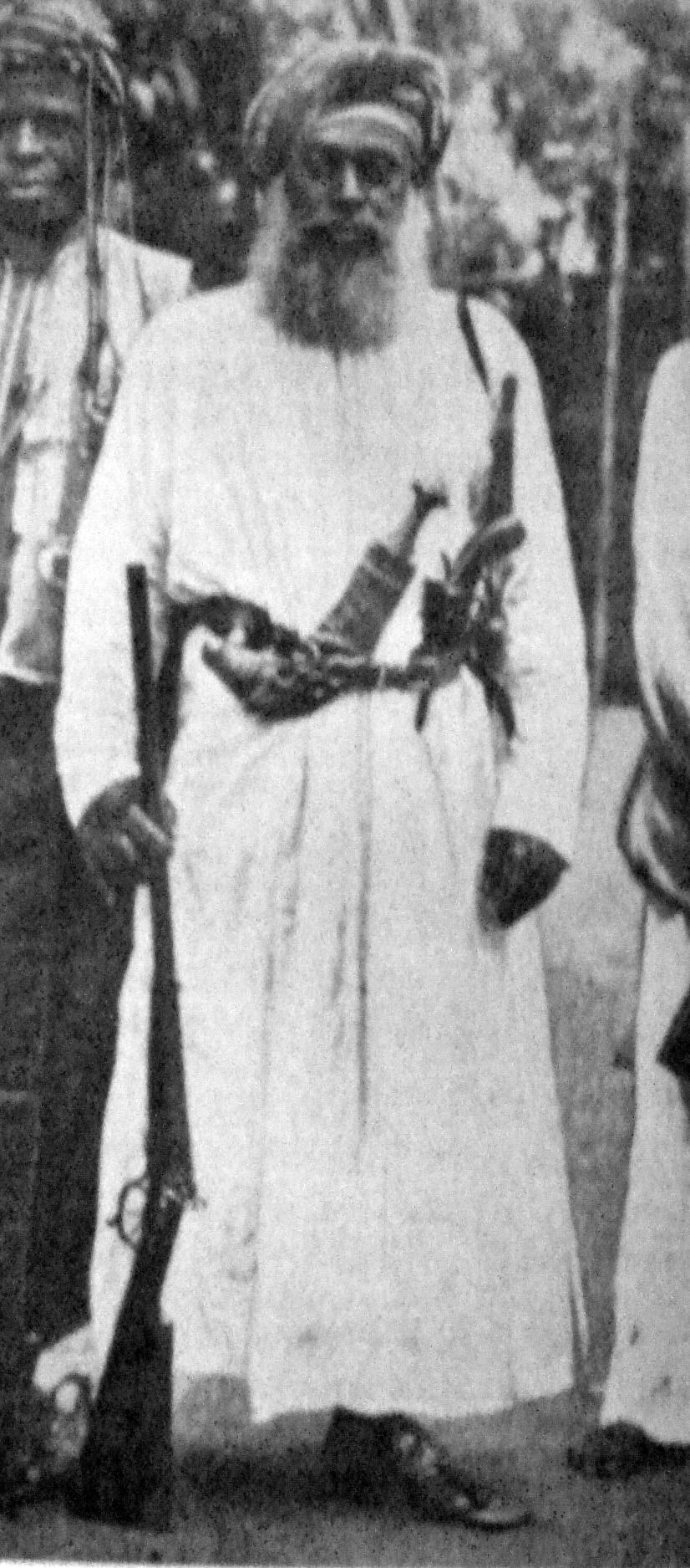 Al Bashir ibn Salim al-Harthi also known by the name Abushiri
