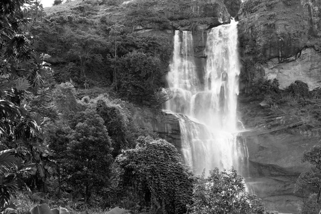One of Uluguru mountains waterfalls close to Kinole