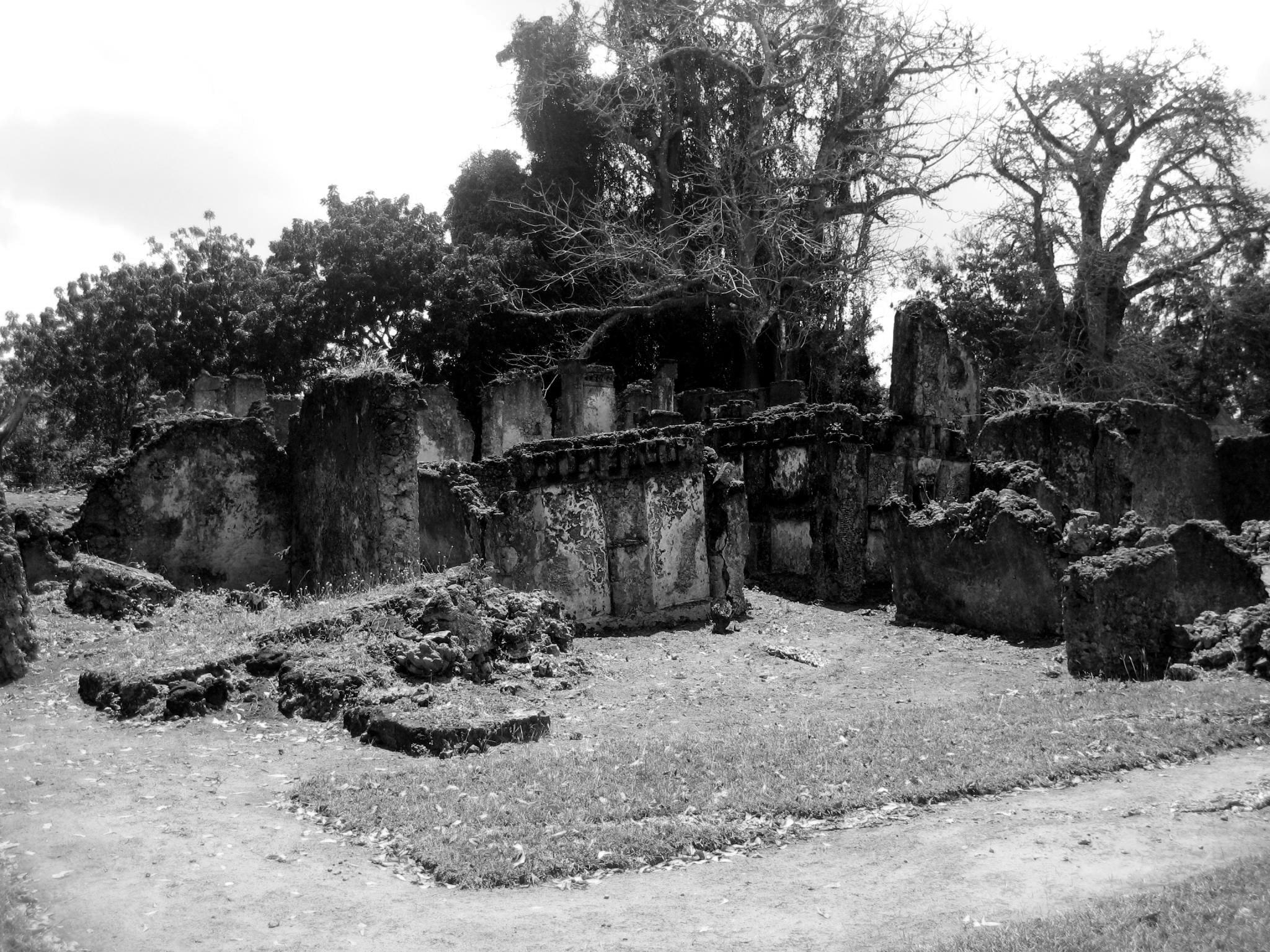 Ruins of Tongoni in Tanga