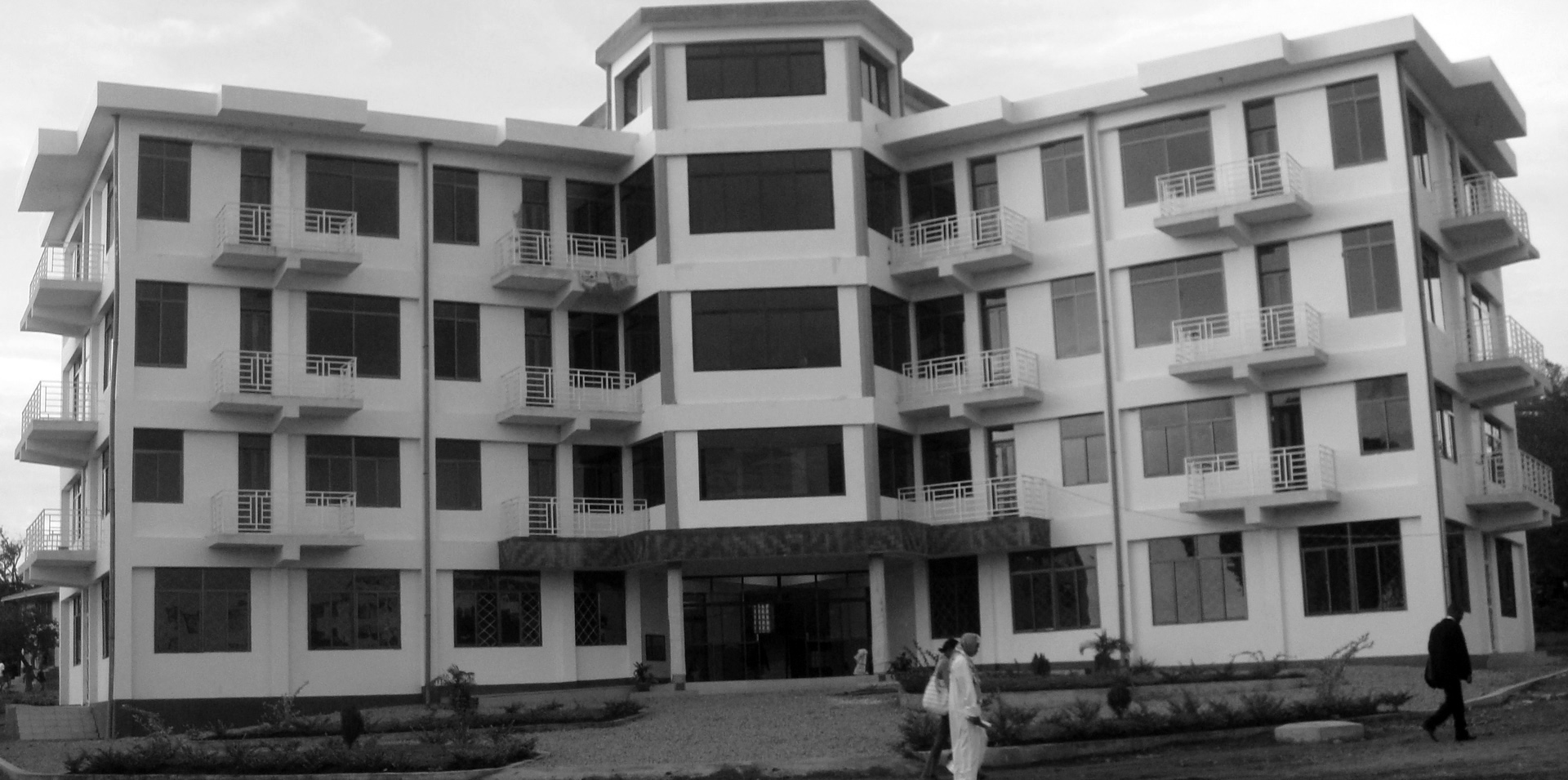 The administration building of Saint Augustine University of Tanzania