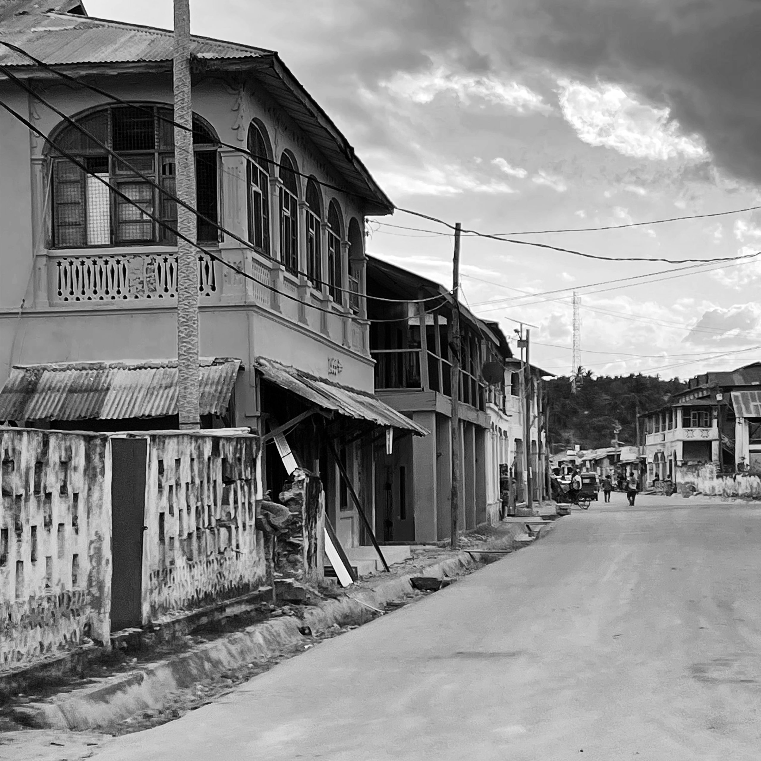 View of one of the streets in Lindi town